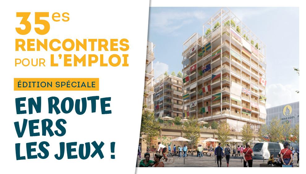 35es Rencontres pour l'emploi : cap sur les Jeux !